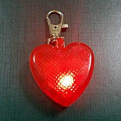 Kutya Címkék Személyazonossági igazolvány címkék Biztonság Rezgés LED fény Strobe Egyszínű Sárga Piros