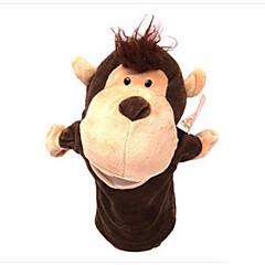 voordelige -knuffels Vingerpop Speeltjes Paard Cow Nijlpaard Aap Hert Dieren Katoenen Doek Kind Volwassenen Stuks