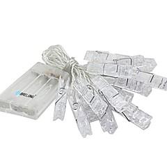お買い得  LED ストリングライト-3M ストリングライト 20 LED SMD 0603 温白色 / RGB / ホワイト 防水 / 装飾用 / クリスマス 1個 / IP65