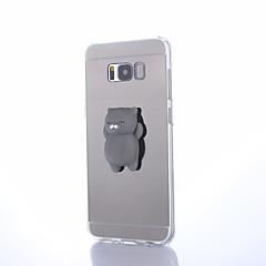 Taske til samsung galaxy s8 s8 plus squishy diy stress relief tilfælde bagside cover sød 3d tegneserie blød tpu taske til Samsung Galaxy