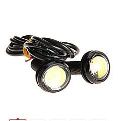 Недорогие Фары для мотоциклов-LORCOO 2pcs Мотоцикл Лампы 1W 1 Внешние осветительные приборы For Универсальный / Дженерал Моторс / Мотоциклы Все года