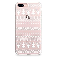Caso para iphone 7 6 christmas tpu capa de capa traseira ultra-fina suave iphone 7 plus 6 6s mais se 5s 5 5c 4s 4