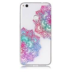 cheap New Arrival-Case For Huawei P9 Lite Huawei Huawei P8 Lite Pattern Back Cover Flower Soft TPU for P10 Lite Huawei P9 Lite P8 Lite (2017) Huawei P8