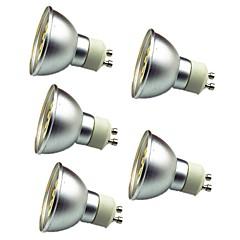 お買い得  LED 電球-5個 3W 280lm GU10 LEDスポットライト 30 LEDビーズ SMD 5050 装飾用 温白色 クールホワイト 12V
