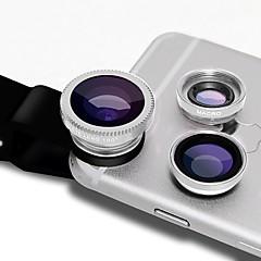 Φακοί φωτογραφικών μηχανών smartphones φακοί φακοειδούς φακού 0.45x φακού ευρείας γωνίας 12.5x μακρο φακός φακού 12x για iphone huawei