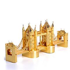 ieftine -Puzzle 3D Puzzle Puzzle Metal Clădire celebru Arhitectură 3D Teak MetalPistol Pentru copii Adulți Fete Băieți Unisex Cadou