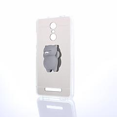 halpa Xiaomi kotelot / kuoret-Etui Käyttötarkoitus Xiaomi Redmi 5 Redmi 5 Plus squishy DIY Takakuori Eläin Kova Akryyli varten Xiaomi Redmi Note 4X Xiaomi Redmi Note 4