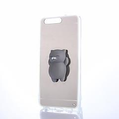 Недорогие Кейсы для Huawei других серий-Кейс для Назначение Huawei Honor 4X / Huawei Honor 7 / Huawei P9 Зеркальная поверхность / Своими руками / болотистый Кейс на заднюю панель Однотонный Твердый ПК для P10 Plus / P10 Lite / P10
