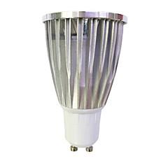 זול נורות LED-7W 480 lm GU10 תאורת ספוט לד MR16 1 נוריות COB לבן חם לבן AC 220-240V