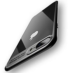 Kotelo iphone 7 plus 7 täysi suojakäsine akryyli läpinäkyvä takakansi 6 plus 6