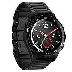 Для hoco huawei watch2 спортивная замена ремешок 20 мм сплошной нержавеющий металл с пряжкой в стиле бабочки черный&Серебряный