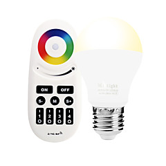 6W E27 LED Smart Bulbs A60(A19) 14 leds SMD 5050 Infrared Sensor Dimmable Remote-Controlled WIFI APP Control Light Control RGB RGB+Warm