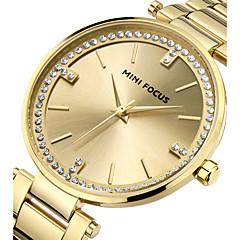 tanie Eleganckie zegarki-Damskie Unikalne Kreatywne Watch Na codzień Modny Zegarek na nadgarstek Kwarcowy Stal nierdzewna Pasmo Urok Luksusowy Twórczy Na co dzień