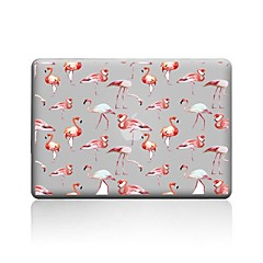 abordables Accessoires de MacBook-MacBook Etuis pour Flamant PVC MacBook Pro 13 pouces MacBook Pro 15 pouces MacBook Air 13 pouces MacBook Air 11 pouces Macbook MacBook