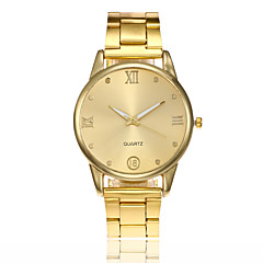 Men's Women's Dress Watch Fashion Watch Wrist watch Unique Creative Watch Chinese Quartz Alloy Band Casual Minimalist Silver Gold Rose