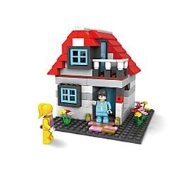 Rakennuspalikat Lelut Talo Pieces Ei määritelty Lahja
