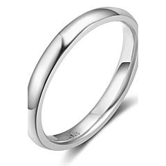 Női Karikagyűrűk Szintetikus opál elegáns Ezüst Geometric Shape Ékszerek Kompatibilitás Parti