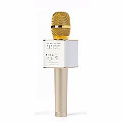 voordelige Audio/Video-accessoires-origineel merk q9 microfoon draadloze professionele magische karaoke speler mini bluetooth spreker voor iphone android telefoon karaoke