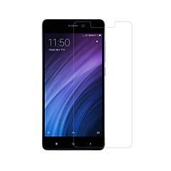 Недорогие Защитные плёнки для экранов Xiaomi-Защитная плёнка для экрана XIAOMI для Xiaomi Redmi 4 Закаленное стекло 1 ед. Защитная пленка для экрана 2.5D закругленные углы Уровень