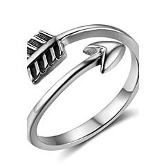 Жен. Кольцо на кончик пальца Регулируется Стерлинговое серебро анкер Бижутерия Назначение
