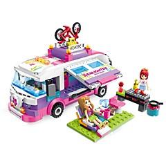 ENLIGHTEN أحجار البناء ألعاب سيارة رومانسية فاشن اصنع بنفسك كلاسيكي أزياء الأطفال للبالغين فتيات 319 قطع