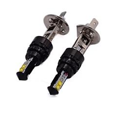 Недорогие Противотуманные фары-2pcs 9003 / H8 / 9006 Автомобиль Лампы 20W Высокомощный LED 2800lm 4 Противотуманные фары For Универсальный Все года