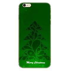 Назначение iPhone X iPhone 8 Чехлы панели С узором Задняя крышка Кейс для Рождество Мягкий Термопластик для Apple iPhone X iPhone 8 Plus