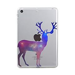 Para iPad (2017) Carcasa Funda Transparente Diseños Cubierta Trasera Funda Navidad Suave TPU para Apple iPad (2017) iPad Pro 12.9'' iPad