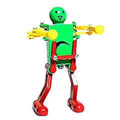 Zabawka nakręcana Robot Zabawki Maszyna Robot Kreskówka Tworzywa sztuczne Sztuk Nie określony Prezent