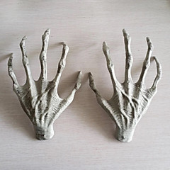 2db halloween műanyag vázas kezek boszorkány kezek kísértetjárta ház menekülési horror kellékek díszek