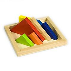 DHZ-kit Bouwblokken Educatief speelgoed Legpuzzel Speeltjes Rechthoekig Stuks Jongens Meisjes Geschenk