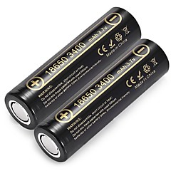 Liitokala Lii - 34A 18650 Li-Ion Rechargeable Battery 2Pcs Lithium Battery