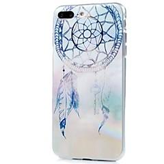 Til iPhone X iPhone 8 Etuier Mønster Bagcover Etui Drømme fanger Blødt TPU for Apple iPhone X iPhone 8 Plus iPhone 8 iPhone 7 Plus iPhone