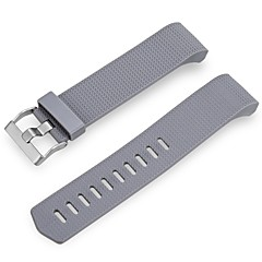 Replacement Bands for Fitbit Charge 2 Wepro Fitbit Charge 2 Bands Accessory with Metal Clasp-gray
