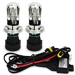 Недорогие Автомобильные фары-H4 Автомобиль Лампы 55W 4200lm Налобный фонарь For Универсальный Все года