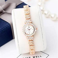 Dames Modieus horloge Kwarts Legering Band Glitter Zilver Goud