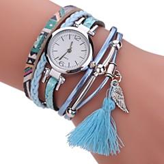 preiswerte Tolle Angebote auf Uhren-Damen Armband-Uhr / Simulierter Diamant Uhr Chinesisch Imitation Diamant PU Band Charme / Freizeit / Böhmische Schwarz / Weiß / Blau