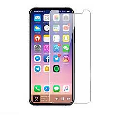 Недорогие Защитные пленки для iPhone X-Защитная плёнка для экрана для Apple iPhone X Закаленное стекло 1 ед. Защитная пленка для экрана HD / Уровень защиты 9H