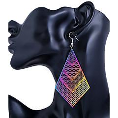 voordelige Druppeloorbellen-Dames Oorknopjes Druppel oorbellen Sieraden Modieus PERSGepersonaliseerd Roestvast staal Bladvorm Sieraden Voor Causaal Club