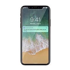 Недорогие Защитные пленки для iPhone X-Защитная плёнка для экрана Apple для iPhone X Закаленное стекло 1 ед. Защитная пленка для экрана Взрывозащищенный Уровень защиты 9H