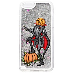 Na iPhone 7 iPhone 7 Plus Etui Pokrowce Z płynem Wzór Etui na tył Kılıf Połysk Halloween Twarde PC na Apple iPhone 7 Plus iPhone 7 iPhone