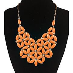 preiswerte Halsketten-Damen Anhängerketten / Statement Ketten - Luxus, Modisch Weiß, Orange, Hellblau Modische Halsketten Für Alltag, Normal