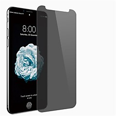 Недорогие Защитные пленки для iPhone X-Защитная плёнка для экрана Apple для iPhone X Закаленное стекло 1 ед. Защитная пленка на всё устройство Anti-Spy Взрывозащищенный Уровень