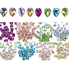 80 Nail Art dekoráció strasszos gyöngy smink Kozmetika Nail Art Design