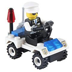 Bouwblokken Politieauto Speeltjes Voertuigen Non Toxic Klassiek Nieuw Design Volwassenen 36 Stuks