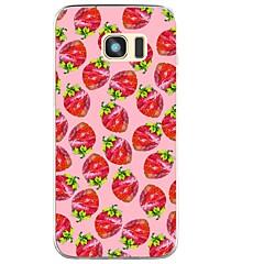 halpa Galaxy S3 kotelot / kuoret-Etui Käyttötarkoitus Kuvio Takakuori Hedelmä Pehmeä TPU varten S8 S8 Plus S7 edge S7 S6 edge plus S6 edge S6 S6 Active S5 Mini S5 Active