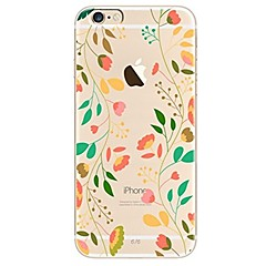 Case For iPhone X iPhone 8 Ultra-thin Transparent Pattern Back Cover Tree Flower Soft TPU for iPhone X iPhone 8 Plus iPhone 8 iPhone 7
