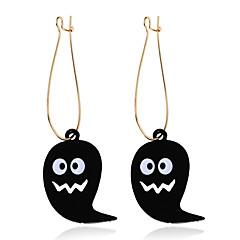 Χαμηλού Κόστους Σκουλαρίκια-Γυναικεία Κρίκοι Εξατομικευόμενο Ρητίνη Κράμα Κοσμήματα Για Halloween Φεστιβάλ