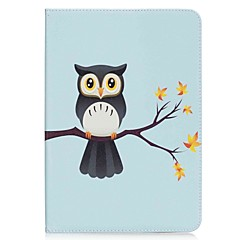 Owl Pattern Card Holder Wallet with Stand Flip Magnetic PU Leather Case for Samsung GALAXY Tab A 9.7 T550 T555 9.7 inch Tablet PC