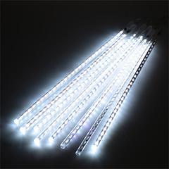 billige LED Rørlys-1 sæt hkv® 30cm 8strip udendørs meteorregn regnrør ledet lys bryllupsfart havenstreng lys